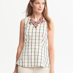 Peplum blouse | banana Republic